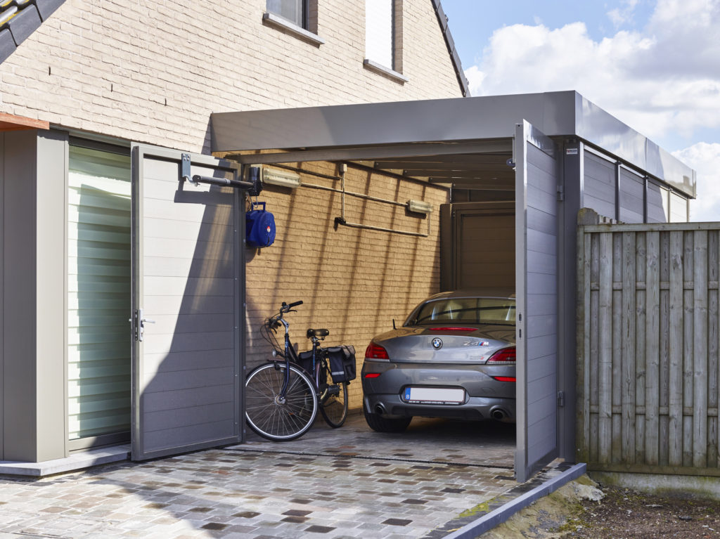 Garage in composiet - Wielsbeke