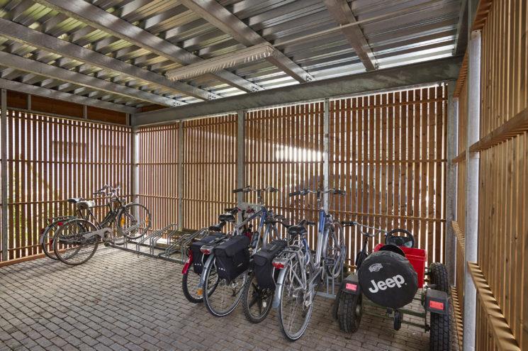 Carport met fietsenberging – Waregem
