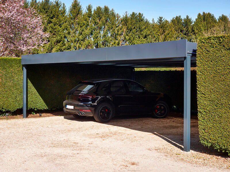 Vrijstaande carport