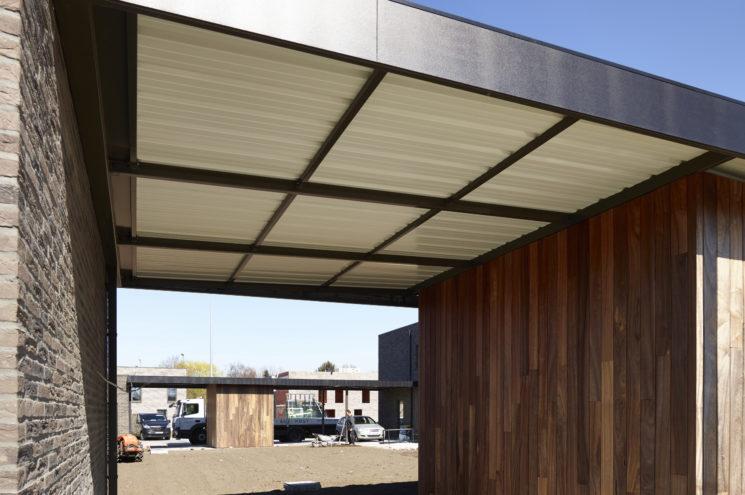 Carport met bergruimte – Mechelen