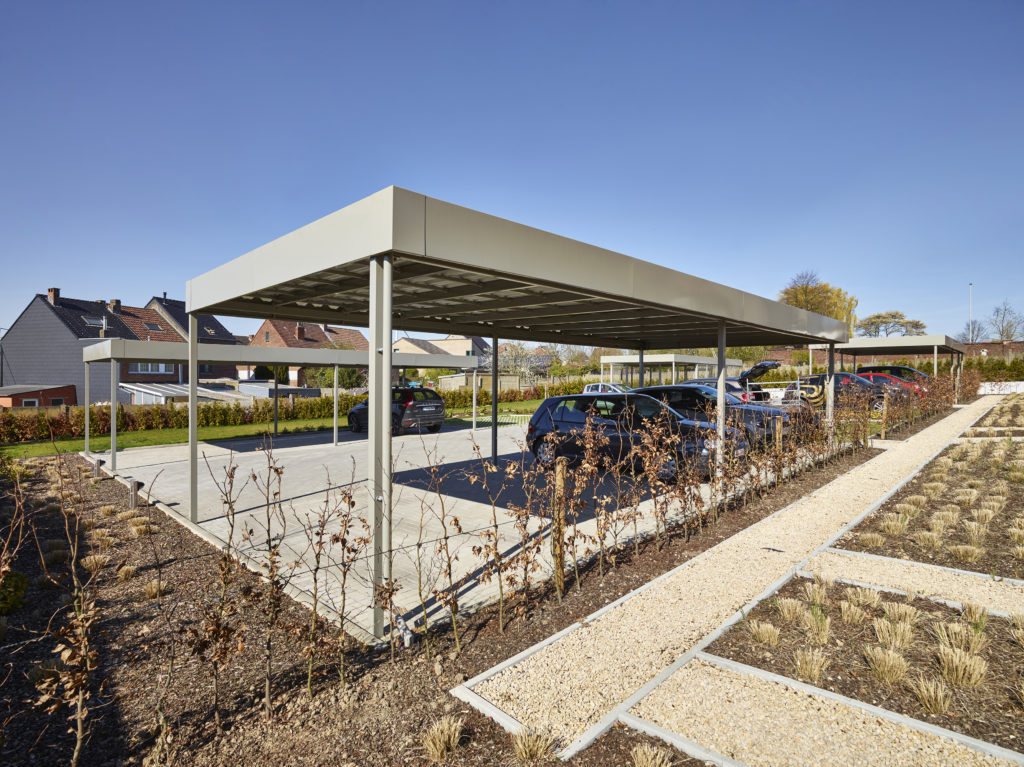 Project carports - Buizingen